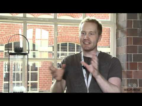 Intervju med Thomas Grip frn Frictional Games p Nordic Game 2011