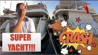 We Crashed A Luxury Super Yacht (Captain's Vlog 95)