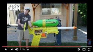 La pistola de agua más potente del mundo