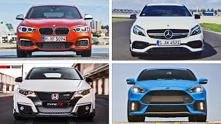 TOP 10 Sports Compact Cars 2016