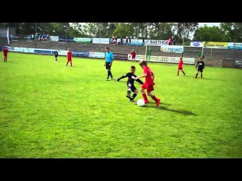 Das Viertelfinale Spree Cup 2015 FSV Berolina Stralau F1 vs Lok Stendal