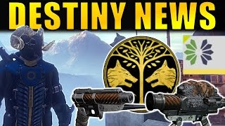 NEW DESTINY NEWS: Next Iron Banner, New Live Updates, Bungie Bounty Days, & More!