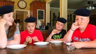 AMERICAN KIDS TRY FRENCH FOOD!