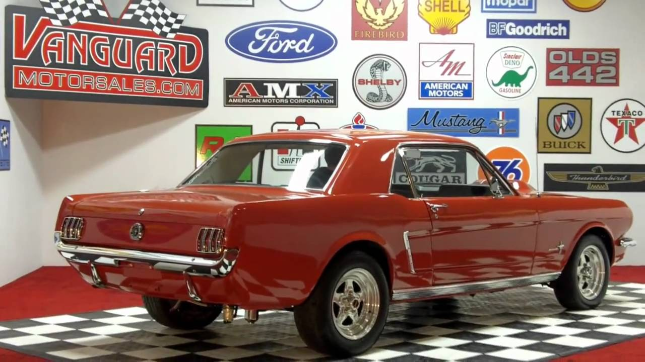 1965 Ford Mustang Classic Muscle Car For Sale In Mi Vanguard Motor Sales Youtube