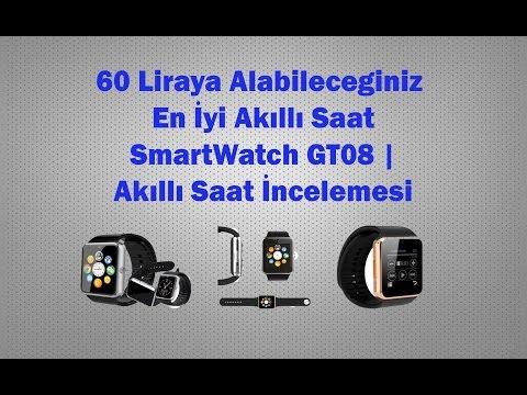 60 Liraya Alabileceginiz En İyi Akıllı Saat SmartWatch GT08 | Akıllı Saat İncelemesi