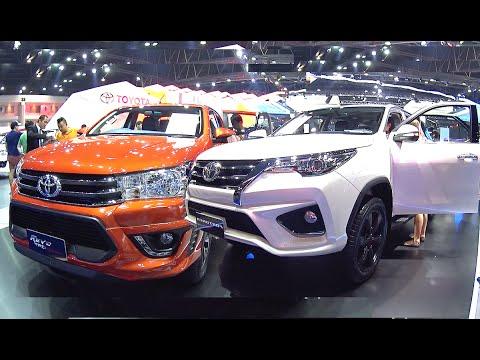 2016, 2017 Toyota Fortuner TRD Sportivo Z4, Toyota Hilux REVO TRD, All New 2016, 2017 Toyota SUVs