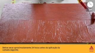 Sikagard 570W Pele Elástica +Fibras SIKA - ATILA | Revendedor