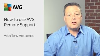 How To Use AVG Remote Support