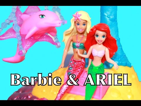 Barbie Splash And Slide Barbie Ariel Splash n Slide