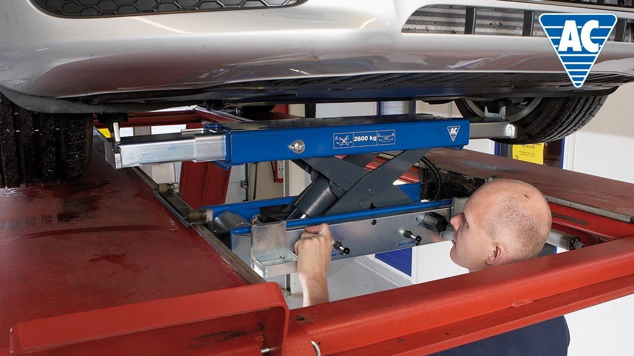 Automatic Air Hydraulic Jacking Beam Youtube