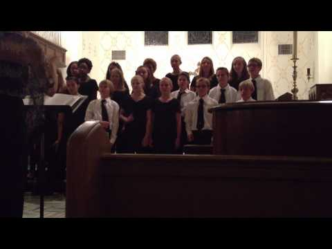Bosque School 6th Grade Chorus, December 9, 2012
