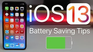 iOS 13 - The Best iPhone Battery Saving Tips