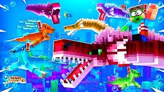 CAPTURING A GIANT MINECRAFT SEA MONSTER!