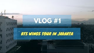 EXPERIENCE MEETING BTS 🌸 29th april 2017 🌸 bts wings tour in jakarta 💣 -vlog/fancam-