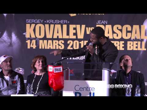 HBO Boxing News: Kovalev vs. Pascal Press Conference