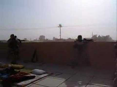 Firefight in Cykla, near Haditha, Iraq