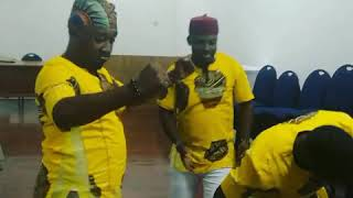 Ma Africa Dancing to Bosele by shenky ft Daliso