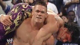 Bloodiest Match Ever ll JOHN CENA VS EDDIE GUERRERO ll WWE SMACKDOWN 210