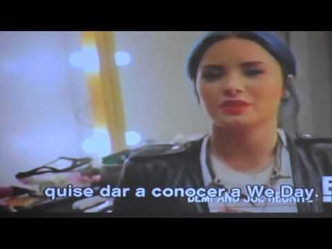 Demi Lovato y Joe Jonas juntos E! news 2013