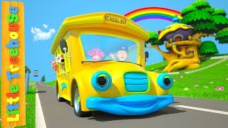 Wheels On The Bus | Cartoons for Babies by Little Treehouse