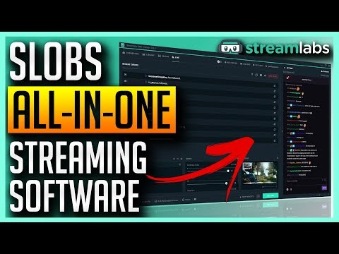 ✅ Streamlabs OBS Overview - All-In-One Streaming Application SLOBS