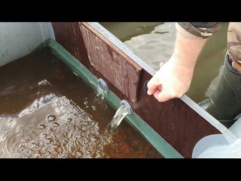 как приклеить клапан на лодке пвх