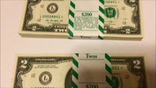 200 CONSECUTIVE # $2 STAR BILLS NEW AND UNCIRCULATED!! AN EXTREMELY RARE FIND !!
