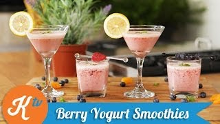 Resep Yogurt Smoothies (Fruit Yoghurt Smoothies Recipe Video) | MELATI PUTRI
