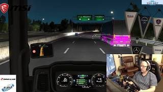 Euro Truck Simulator 2 (Armstrong haulage) DAY 169 /convoy/ with Dad