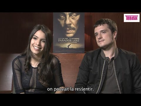 Interview of Claudia Traisac and Josh Hutcherson in Paris [Escobar: Paradise Lost]