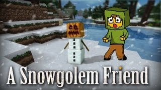 Minecraft | A Snowgolem friend