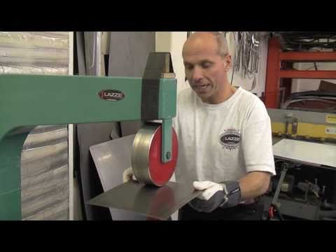 Basic English Wheel Technique, Lazze Metal Shaping