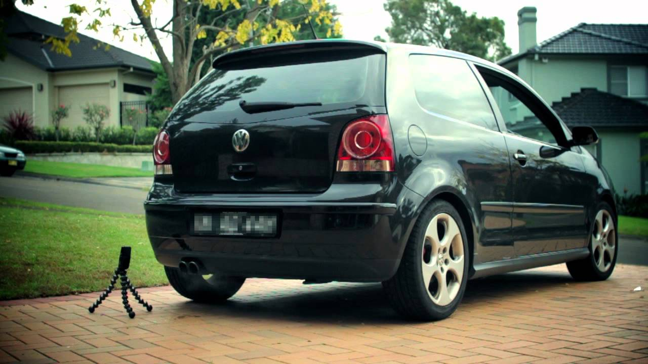 2006 volkswagen polo gti stock exhaust sound youtube. Black Bedroom Furniture Sets. Home Design Ideas