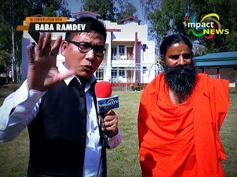 IN CONVERSATION WITH BABA RAMDEV IN MANIPUR