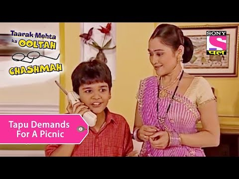 Your Favorite Character | Tapu Demands For A Picnic | Taarak Mehta Ka Ooltah Chashmah thumbnail