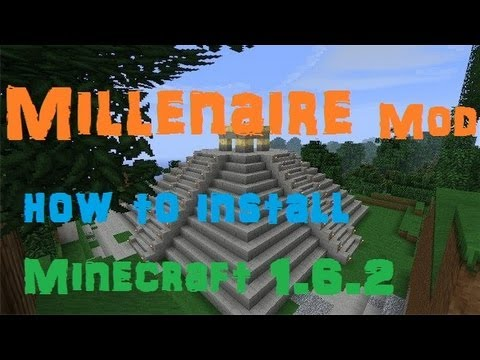 How to Install the Millenaire mod for Minecraft 1.6.4 (Windows)