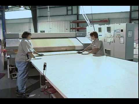Honeycomb Composite Panel Lamination Processing Youtube