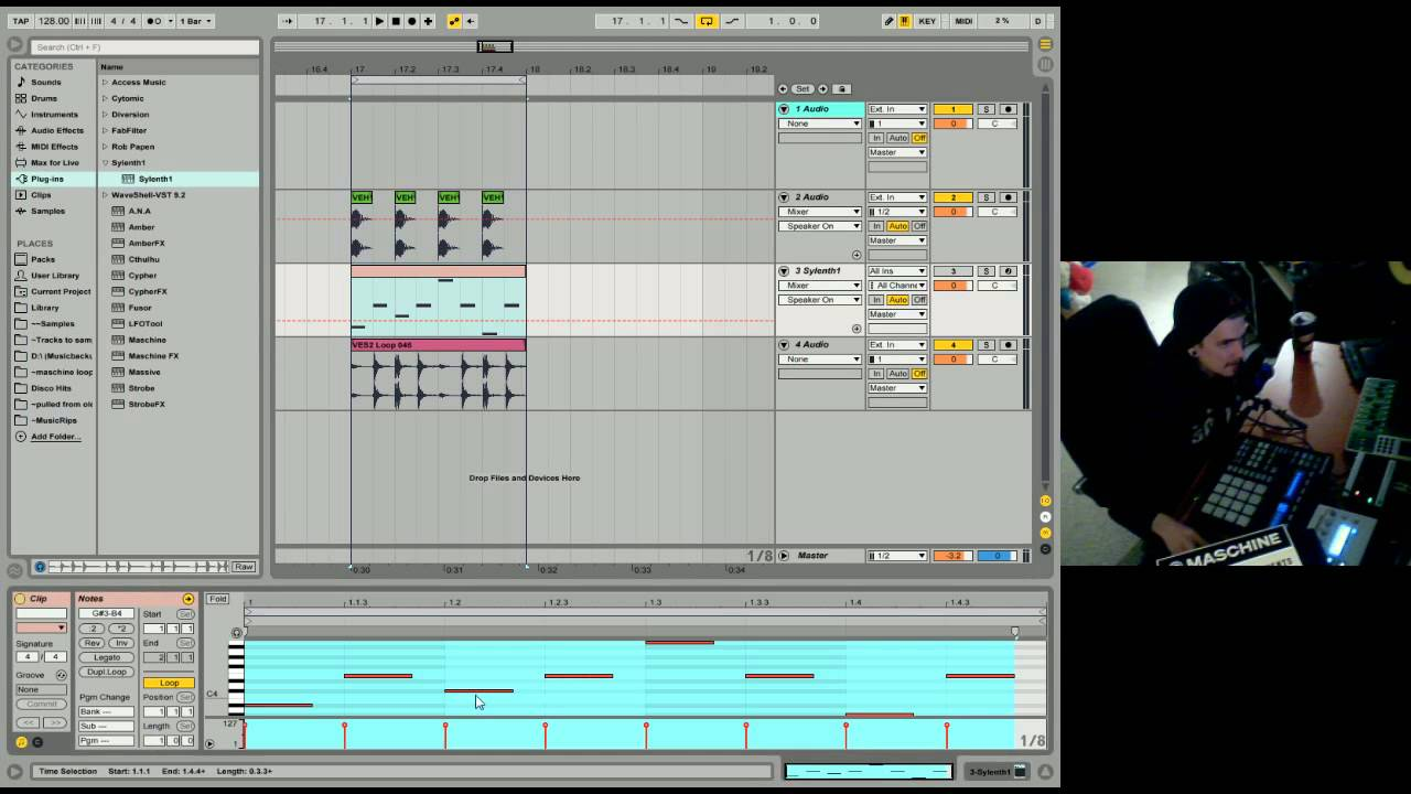 Converting Audio to MIDI — Ableton Reference Manual ...