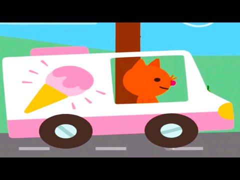 Кошка Джиня: отправляется в путешествие Игры Для детей от Саго Мини.Видео Для Детей Sago Mini.