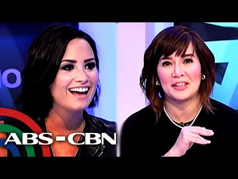 WATCH: Demi Lovato's reacts to Kris' 'mababaw' comment