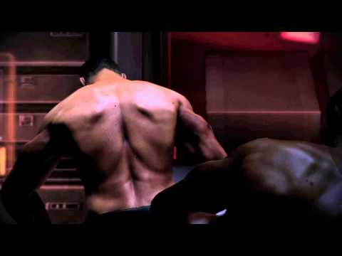 Mass Effect 3 -  Shepard Gay Sex Scene video