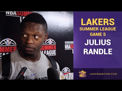 Julius Randle Very Frustrated With Summer League Losses