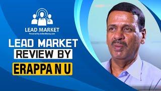 Lead Market Success Story 2  Erappa N U  LeadMarke