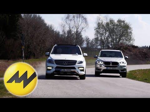 BMW X5 25d xDrive vs. Mercedes ML 250 Bluetec: SUV Vergleich 2014
