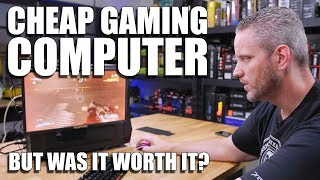 The Ultimate Cheap Gaming PC is fixed! But was it worth it?