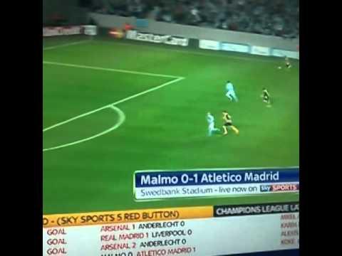 ¡Golazo de Koke! Atletico de Madrid 1-0 Malmo