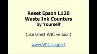 Epson L120 reset by Yourself - videotutorial