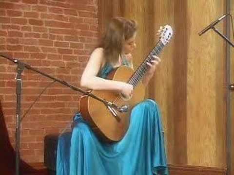 Ana Vidovic- Five Bagatelles, Alla Cubana (William Walton)