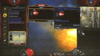 Diablo 3 Crafting / Artisans / Caravan Feature presentation at gamescom 2010