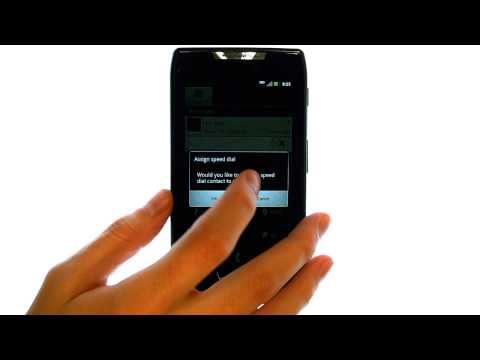 How Do I Use Speed Dial On My Motorola Droid RAZR?